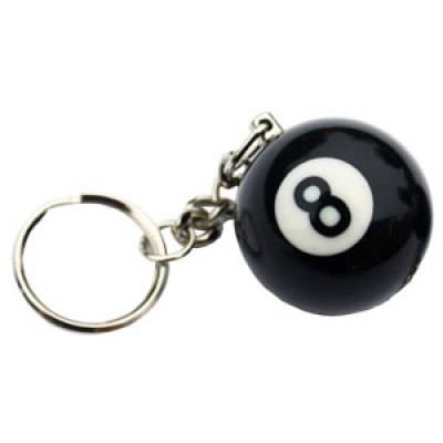 8 Ball Key Ring