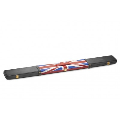 Peradon Union Jack 3/4 Leather Cue Case