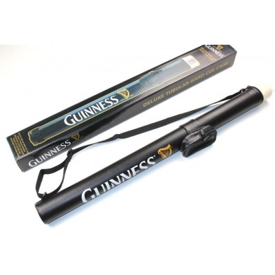 Limited Edition Deluxe Guiness 2pc Snooker/Pool Cue & Tubular Case