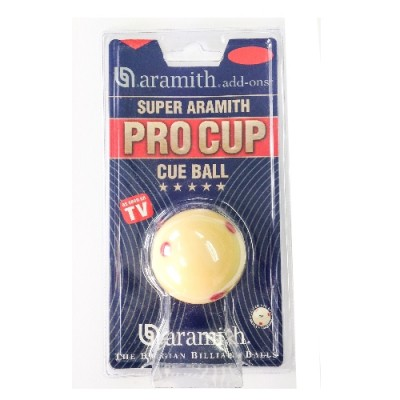 "Aramith 2 1/4"" Pro Cup Cue Ball"