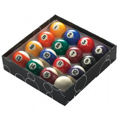 Economy Engraved Pool Balls
